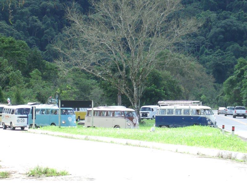 Trevo De Acesso A Praia Na Rio Santos