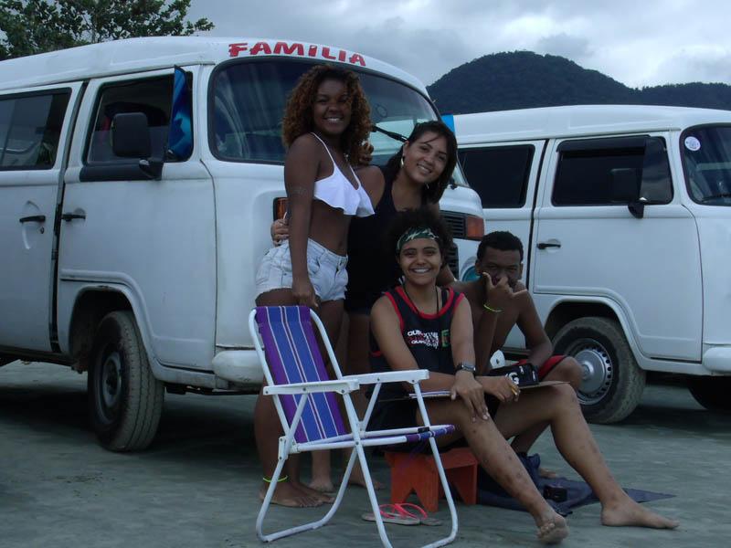 Participantes Na Praia De Ubatumirim