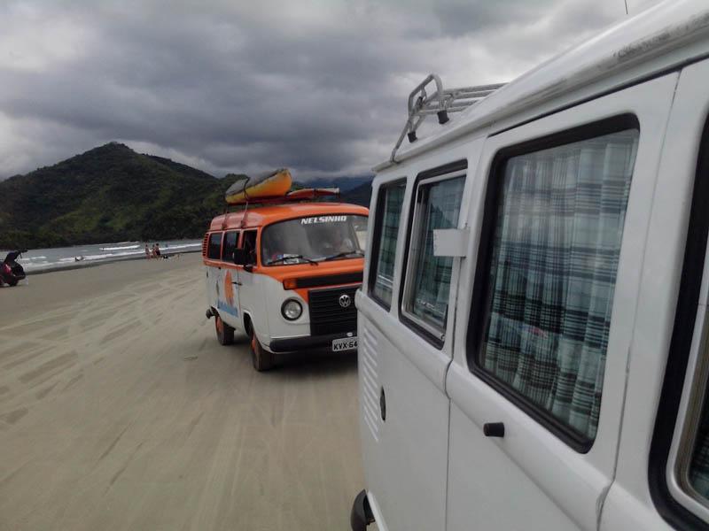 Praia De Ubatumirim – Kombi Do Nelson